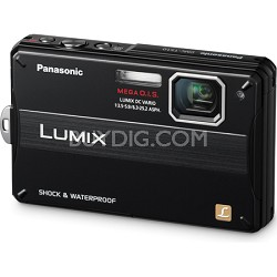 Lumix DMC-TS10K 14.1 MP Digital Camera (Black)