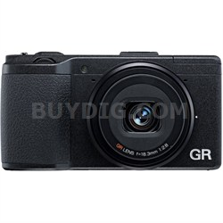GR II 16.2 MP Wi- Fi Digital Camera with 3.0-Inch LED Backlit (Black)