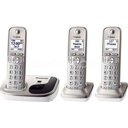 KX-TGD213N - DECT 6.0 3-Handset Landline Telephone