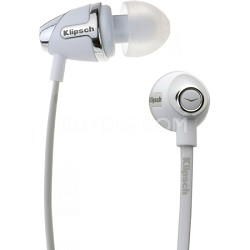 IMAGE S4 II-WH In-Ear Enhanced Bass Noise-Isolating Headphone, White