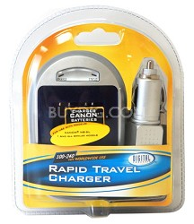 Digital Concepts AC/DC Rapid battery charger for Canon NB-6L Batteries