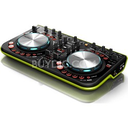 DDJ Series Digital DJ Controller - Green