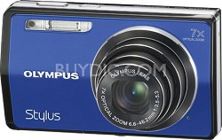 "Stylus 7000 12MP 3"" LCD Digital Camera (Blue)"