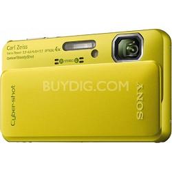 Cyber-shot DSC-TX10 16.2 MP Waterproof Digital Camera with Full HD Video (Green)