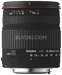 Wide Angle Zoom 18-200mm f/3.5-6.3 DC Aspherical (IF) Lens Canon Digital EOS