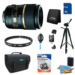 90mm F/2.8 DI SP AF Macro 1:1 Lens Pro Kit for Canon EOS