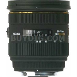 24-70mm F2.8 IF EX DG HSM Lens for Nikon AF - OPEN BOX