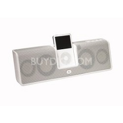 MM50 Portable Speakers for iPod (white)