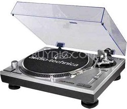 AT-LP120-USB Direct-Drive Professional Turntable - Factory Refurbished - Silver