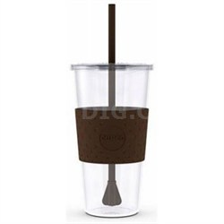 Eco First Tumbler 24 Ounce Togo Cup Mug - Brown (2510-9285)