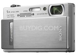 "Cyber-shot DSC-T500 10.1 Megapixel Digital Camera - 3.5"" Touchscreen (Silver)"