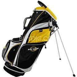 Stand Bag (RCS-1), Black/Yellow/White