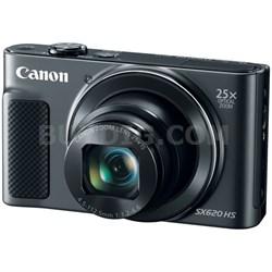 PowerShot SX620 HS 20.2MP Digital Camera, 25x Optical Zoom & Wi-Fi - Black