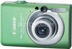 Powershot SD1200 IS 10MP Digital ELPH Camera (Green)