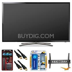 """UN50F5500 50"""" 60hz 1080p WiFi LED Smart HDTV Wall Mount Bundle"""
