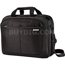 "15.6"" Two Gusset TSA Checkpoint Friendly Brief Computer Bag"