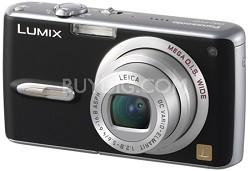 "DMC-FX07 (Black) Lumix 7.2 megapixel Digital Camera w/ 2.5"" TFT LCD"