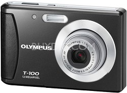 "T-100 12MP 2.4"" LCD Digital Camera (Black)"