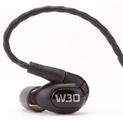 W30 Triple Driver Premium In-Ear Monitor Noise Isolating Headphones - 78503