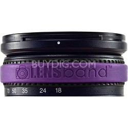 Stop Zoom Creep for One Size Fits All Lens - Purple
