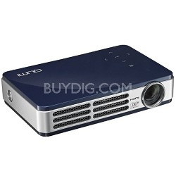 Qumi Q5 500 Lumen WXGA HD 720p HDMI 3D-Ready Pocket DLP Projector (BLUE)