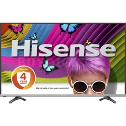 "H8 Series 50H8C 50"" Class 4K Ultra HD Smart LED TV with Built-In Wi-Fi"
