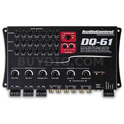 DQ-61 Six Channel Line Out Converter with Signal Delay & EQ