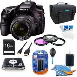 SLTA65VL - a65 Digital SLR Camera 24.3 MP with 18-55mm Zoom Lens Plus Kit
