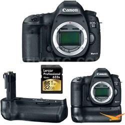 EOS 5D Mark III 22.3 MP Full Frame CMOS Digital SLR Camera (Body) kit with Grip