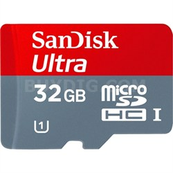 Imaging Ultra microSDHC 32GB UHS Class 10 Memory Card w/ Adapter