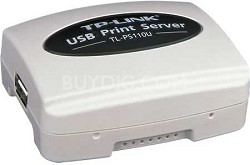 Single USB2.0 Port Fast Ethernet Print Server