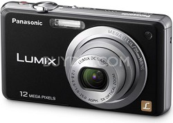 DMC-FH1K LUMIX 12.1 Megapixel Digital Camera (Black)