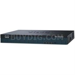 Integrated Services Router with 2GE Security License - CISCO1921-SEC/K9