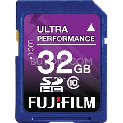 32 GB SDHC Class 10 Flash Memory Card