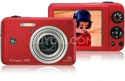 J1455 14MP Smart Series Digital Camera (Red)