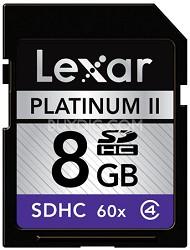 8 GB Platinum II 60x SD Card