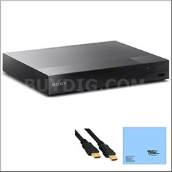 BDP-S5500 3D Streaming Blu-ray Disc Player with TRILUMINOS Technology + Bundle