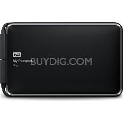 2TB My Passport Pro Portable Thunderbolt RAID Storage External Hard Drive