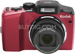 EasyShare Z915 10MP 10x Zoom Digital Camera (Red)