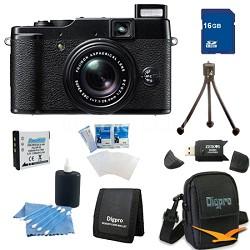 16GB Bundle X10 12MP EXR CMOS Digital Camera with f2.0-f2.8 4x Optical Zoom Lens