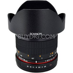 14mm f/2.8 IF ED MC Aspherical Super Wide Angle Lens for Sony E-Mount