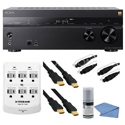 STR-DN860 7.2 Ch Hi-Res Wi-Fi Network A/V Receiver and Cables Bundle