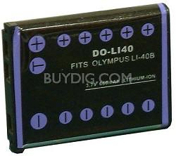 660mah Battery for Olympus Li-40B and Fuji NP-45