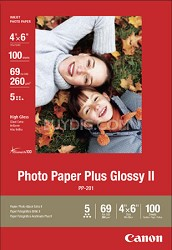 "Photo Paper Plus Glossy II 4"" X 6"" - 100 Sheets"