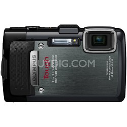 TG-830 iHS STYLUS Tough 16 MP 1080p HD Digital Camera - Black