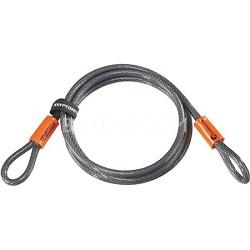 "KryptoFlex 3/8"" x 7' 1007 Double Loop Security Cable"