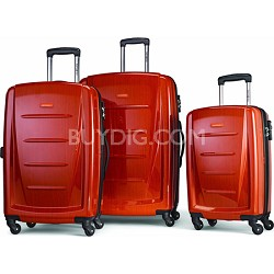 Winfield 2 Fashion Hardside 3 Piece Spinner Set - Orange (56847-1641)