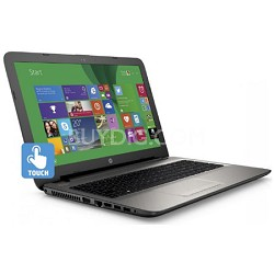 "15-ac020nr 15.6"" 4th gen IntelCore i3-4005U 4GB DDR3L SDRAM Touchscreen Notebook"