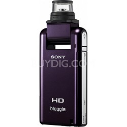 MHS-PM5K bloggie Eggplant 4GB Compact High Definition Camcorder