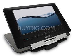 SDP94S 9-Inch Portable Black DVD Player (Black Gloss)